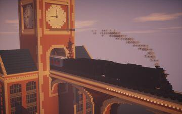 Polar Express Movie Scene Minecraft Map & Project
