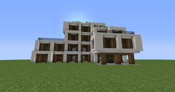 Friday Apartments (Modern Apartments) | InfernoCreators Minecraft Map & Project