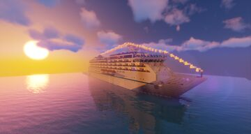 CUSTOM CRUISE SHIP : Oacl Crown Minecraft Map & Project