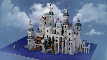 White Castle | Build By Morwyian | Team Arcenia Minecraft Map & Project