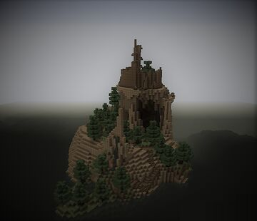 An Ancient Island Minecraft Map & Project