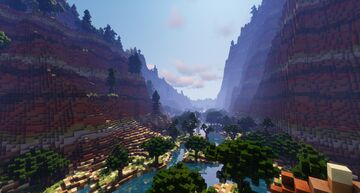 Wooded Canyon - Project Aragon - By Northling64 Minecraft Map & Project