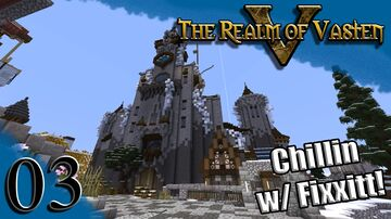 Realm of Vasten - Castle above the Crypt Minecraft Map & Project
