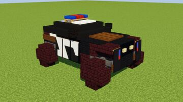 Zootopia Police Car Minecraft Map & Project