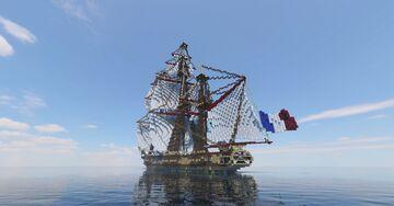 La Confiance de Surcouf 1799 3:1 - By Lucas - ShipSide Minecraft Map & Project