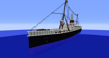 SS Emmanuel der Schnelle (1890-1941) Minecraft Map & Project
