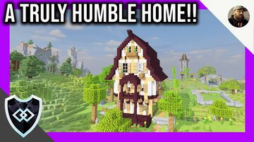 Minecraft 1.14.4 | My Starter House | The Obsidain Order SMP Minecraft Map & Project