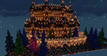 A Castle of Colour And Light Minecraft Map & Project