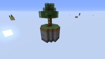 Sky Block Minecraft Map & Project