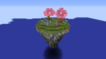 Green Floating Island Minecraft Map & Project