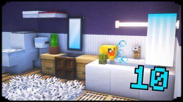10+ Bathroom Design Ideas Minecraft Map & Project