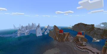Minecraft Xbox 360 TU 73 6516096225451784198 Seed for Minecraft Bedrock 1.14.3+ Minecraft Map & Project