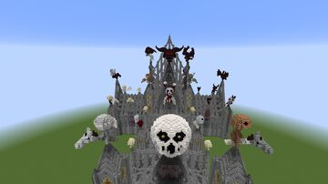 The Basement Cathedral Minecraft Map & Project
