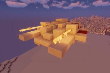 t47 airspeeder / snowspeeder Minecraft Map & Project