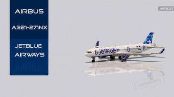 Airbus A321-271NX/LR JetBlue Airways [+Download] Minecraft Map & Project