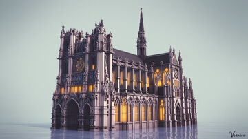 Cathédrale Notre-Dame d'Amiens - France Minecraft Map & Project