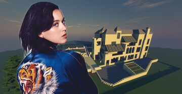 Katy Perry's Hollywood Hills House [DOWNLOAD] Minecraft Map & Project