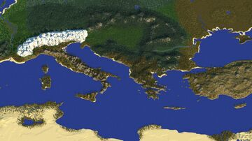 Europe [7,000 x 4,000] [Realistic] Minecraft Map & Project
