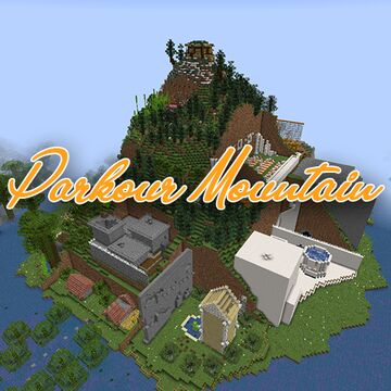 Parkour Mountain Minecraft Map & Project