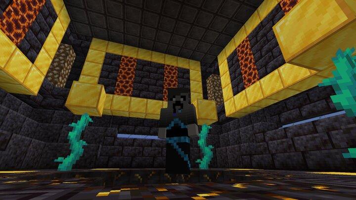 intereor of the blackstone bastion