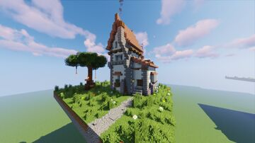 Fantasy House 1 Minecraft Map & Project