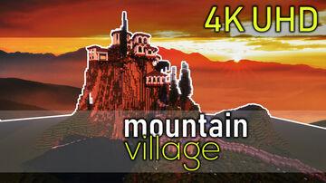 Greek Mountain Village / City Minecraft Map & Project