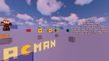PAC-MAN MINIGAME Minecraft Map & Project