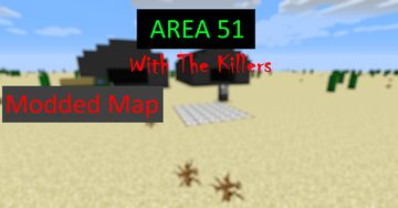 Modded Area 51 Map from Roblox Now with killer NPCs Minecraft Map & Project