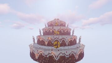 PMC 10th Year Anniversary Cake! Minecraft Map & Project