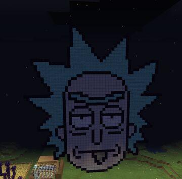 Rick Sanchez Minecraft Map & Project