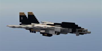 F14 Tomcat Minecraft Map & Project