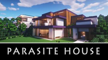 parasite house Minecraft Map & Project