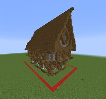 Big Medieval House #1  (interior not finished) 1.15.2 Minecraft Map & Project