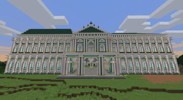 Hermitage Palace Shell Minecraft Map & Project