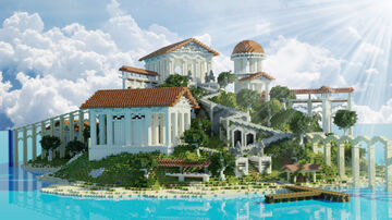 Greek Island | Aderlyon Build Team Minecraft Map & Project