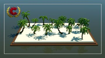 Palm trees Pack | Download Minecraft Map & Project