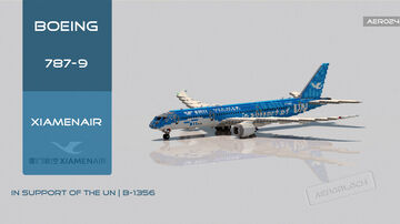 "Boeing 787-9 Xiamen Airlines ""UN Sustainable Development Goals"" [+Download] Minecraft Map & Project"