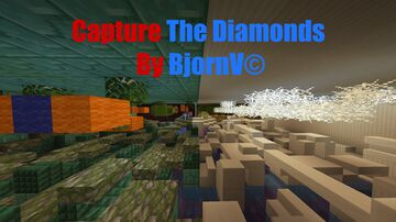Capture The Diamonds - By BjornV© Minecraft Map & Project