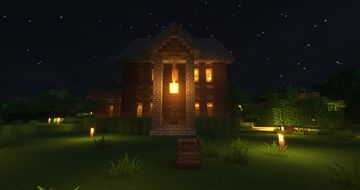 My Survival House On The Extremecraft Server! Minecraft Map & Project