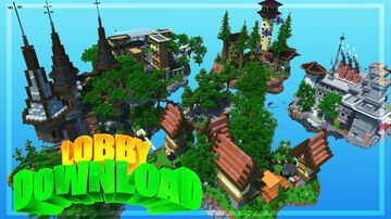 Minecraft MAP: LOBBY/HUB ● +FREE Download ● Midaw Minecraft Map & Project