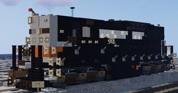 EMD SD9 (Southern Pacific Black Widow scheme) Minecraft Map & Project