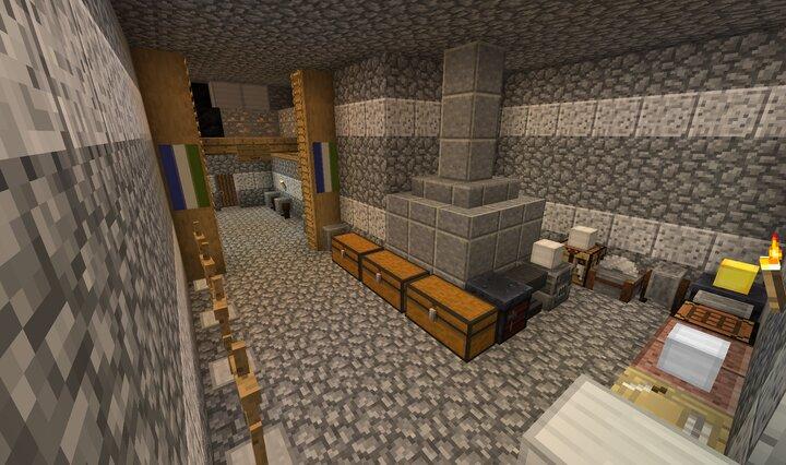 Blacksmith in keep