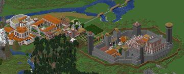 Castrum Caesarea Galliae (Final Version) Minecraft Map & Project