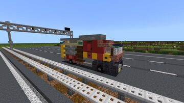 London fire brigade mercedes atego Minecraft Map & Project