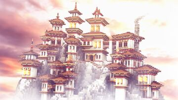 Tibetan Village Minecraft Map & Project