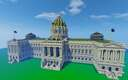 Pennsylvania State Capitol Building Minecraft Map & Project