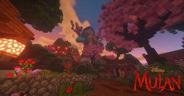 Mulan Village (Disney) Minecraft Map & Project