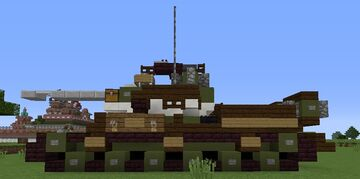 IS-2 Minecraft Map & Project