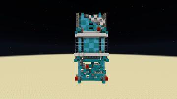 6x6 Gravity block door Minecraft Map & Project