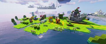 Super Mario 3D World Minecraft Map & Project